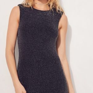 Silence and Noise Shimmer Mini Dress